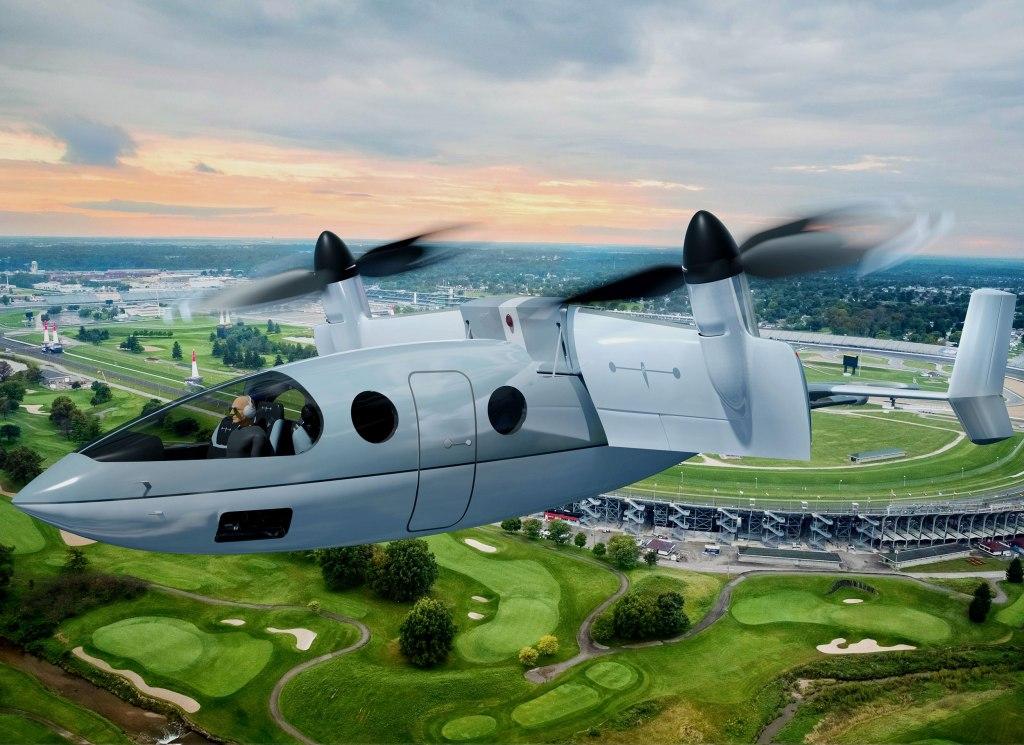 La fusión entre un jet y un helicóptero es Transcend, el eVTOL más poderoso hasta hoy