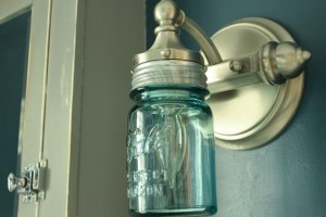 ball jar light