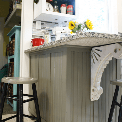 DIY Kitchen Island Makeover (part 2)