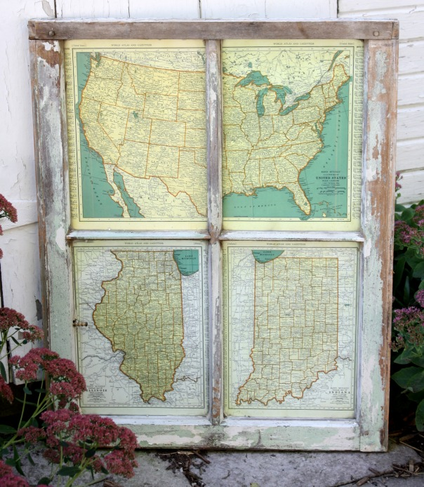 DIY Window Map by RobbRestyle.com