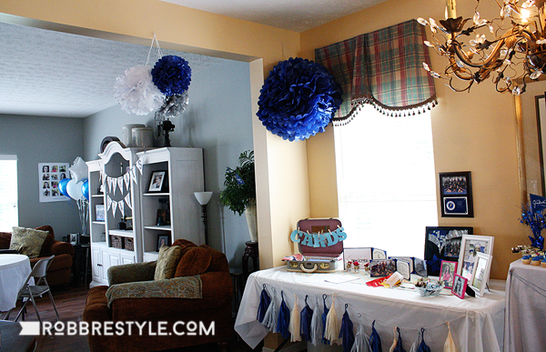 DIY graduation party decor ideas