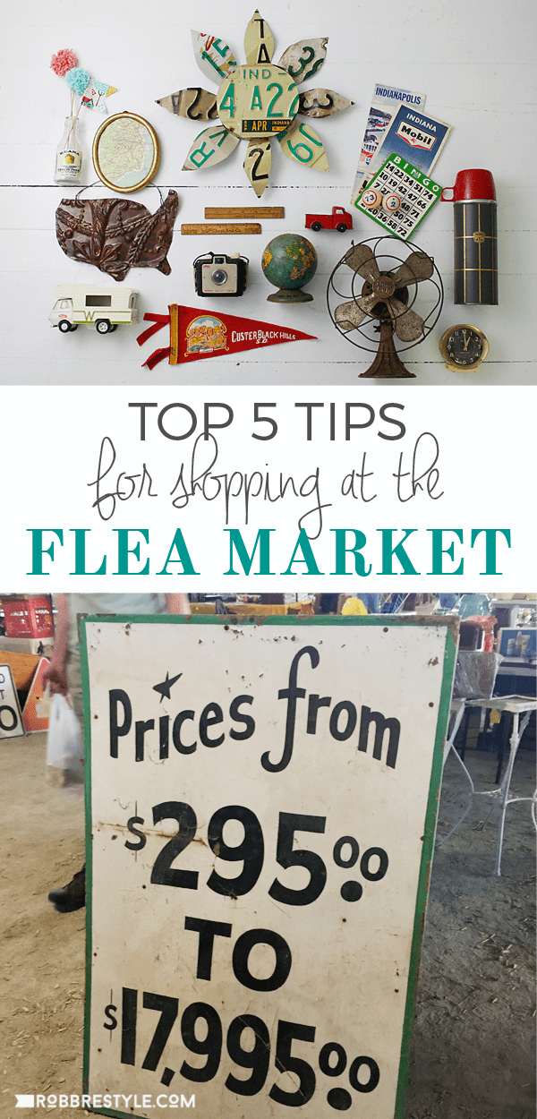 Top 5 flea market shopping tips