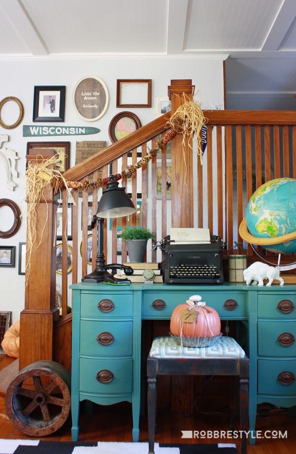 Vintage Fall Decorating Ideas