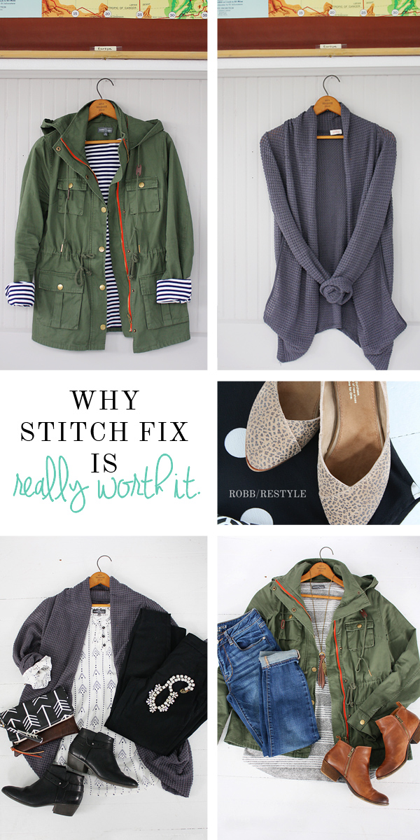 Army Jacket Outfit Idea - Stitch Fix - Robb Restyle