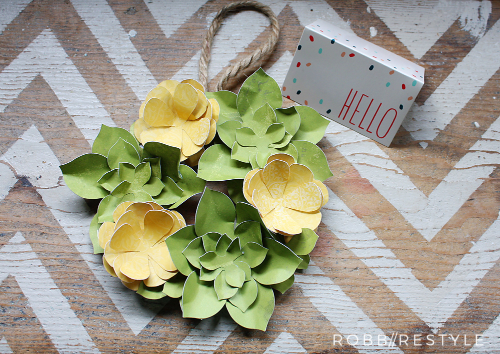 DIY May Day Wreath