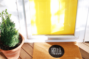 Favorite Hello Doormat