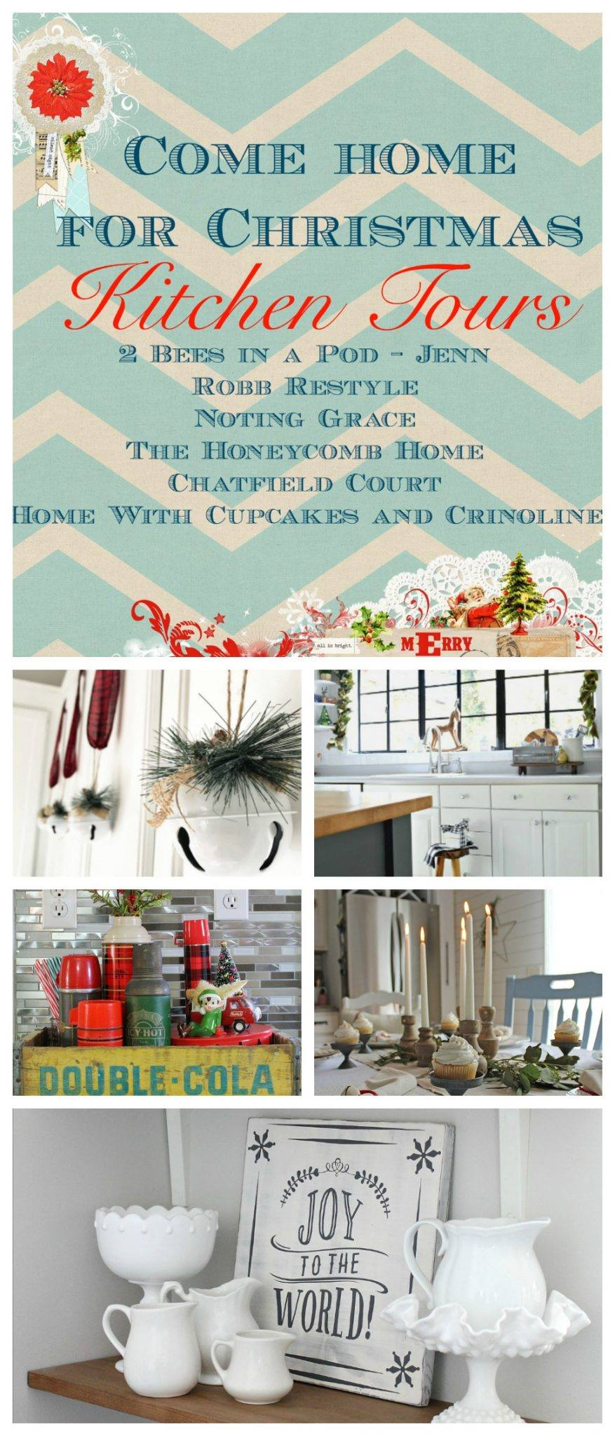 Come Home for Christmas Kitchen Tours