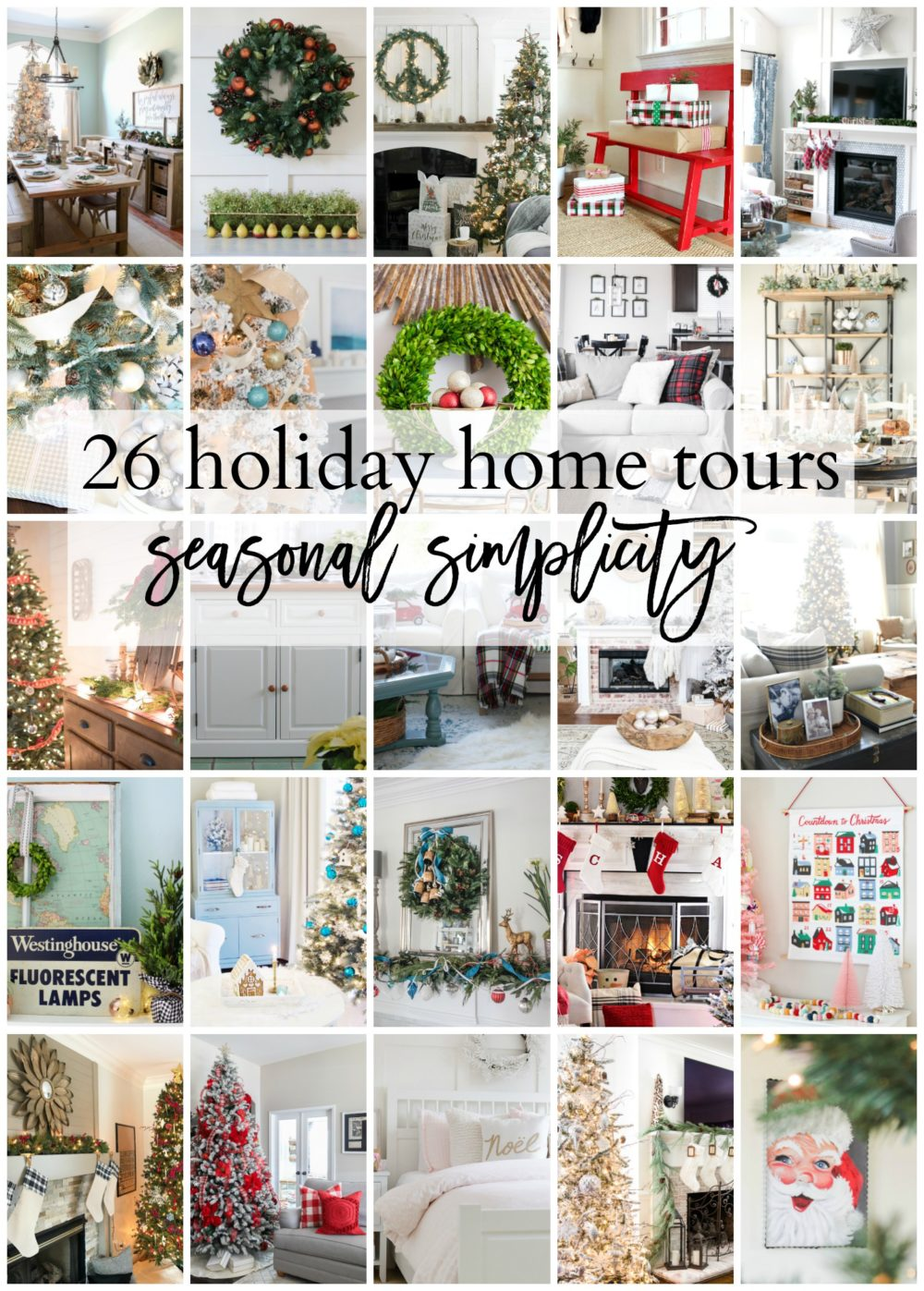 Best Holiday Home Tours with Seasonal Simplicity
