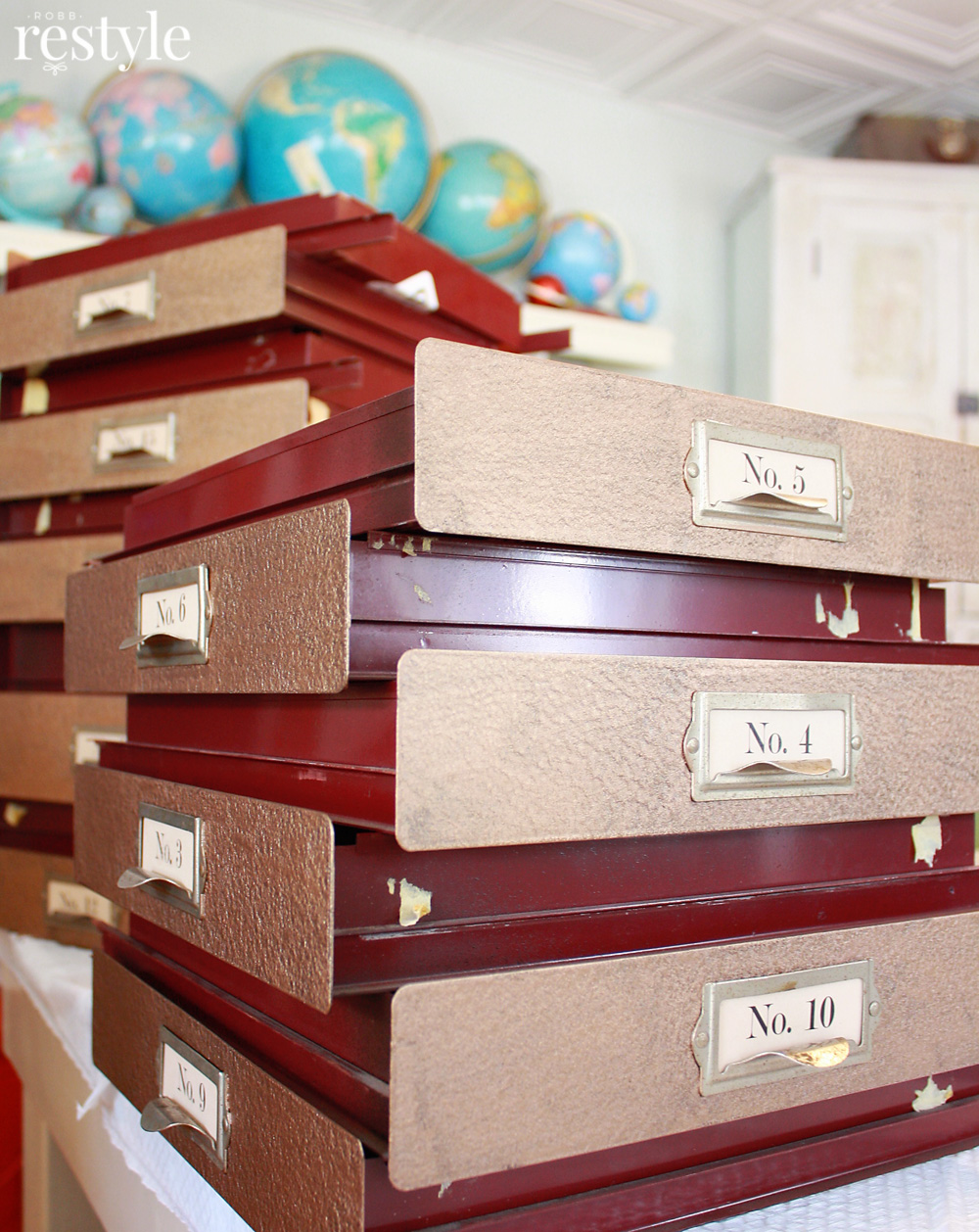File Cabinet Drawers
