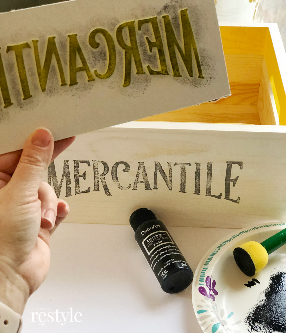 Make a vintage stamp with craft foam