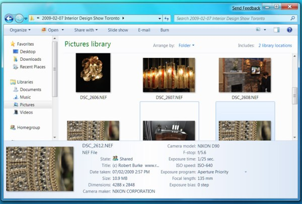 Nikon NEF Codec for Windows 7 - Handle RAW image files ...