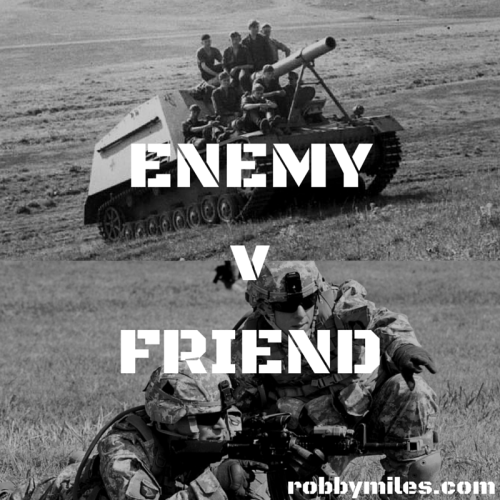 Situation Enemy v Friend