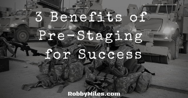 3 Benefits of Pre-Staging for Success