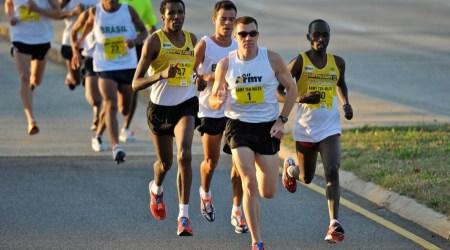 Marathon Uphill Run Lead
