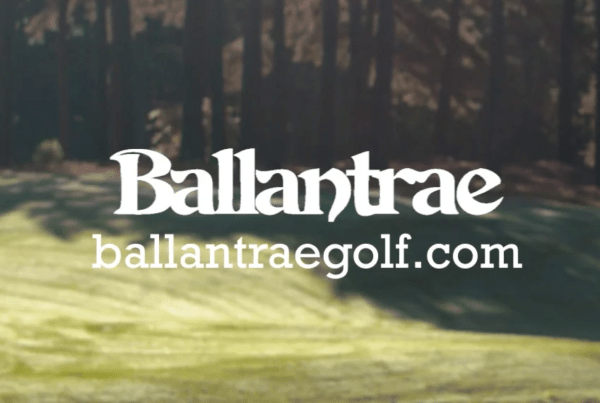 Ballantrae logo and website
