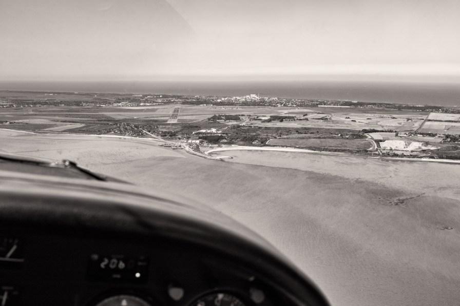 Landeanflug auf Westerland