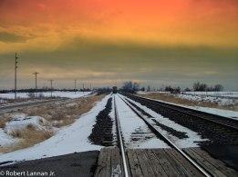 Trainsunset