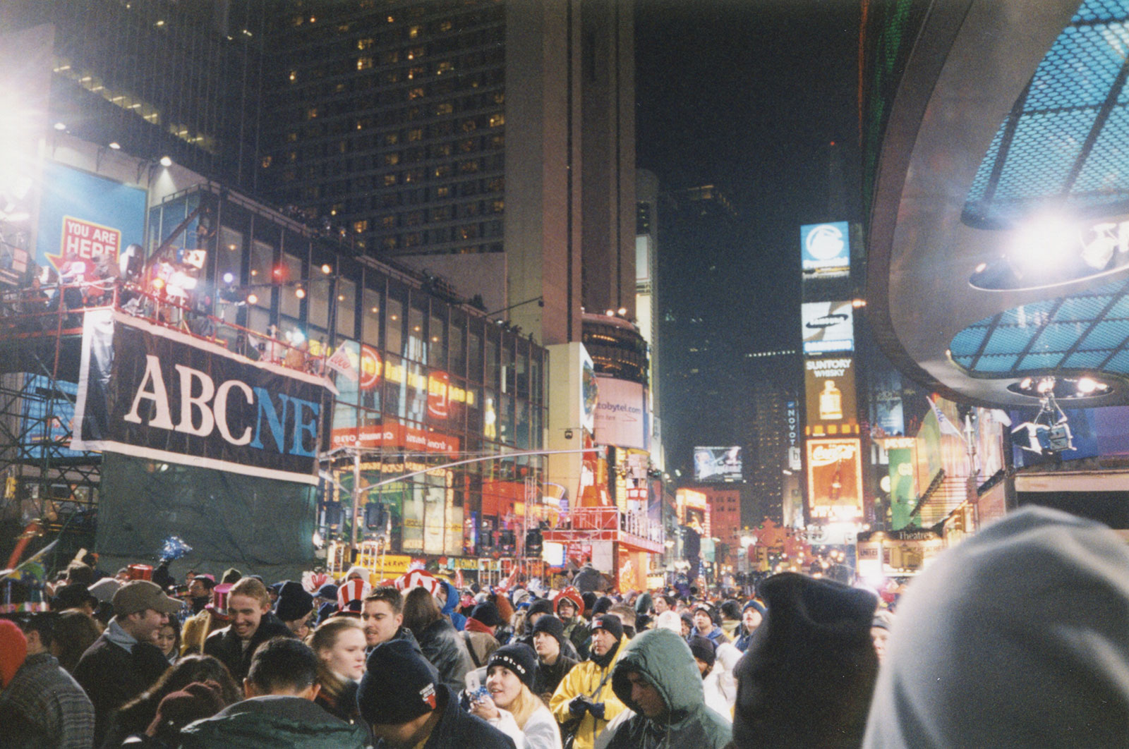 New Years Eve, 1999-2000, Times Square, NYC
