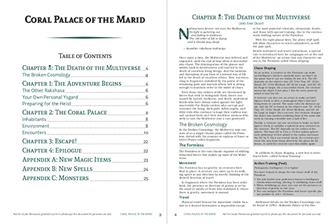 Pages 3-4: Table of Contents and Introduction