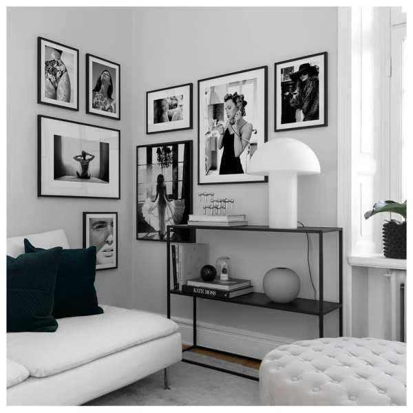Черно-белый интерьер и его сочетания: фото идеи дизайна ...