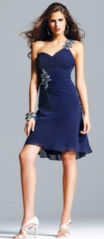 La robe asymétrique