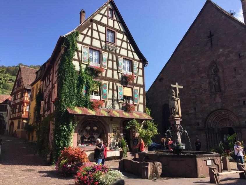 Kayserberg on Half Day Village tour from Colmar France