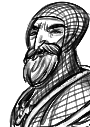 cleric sketch for /tg/