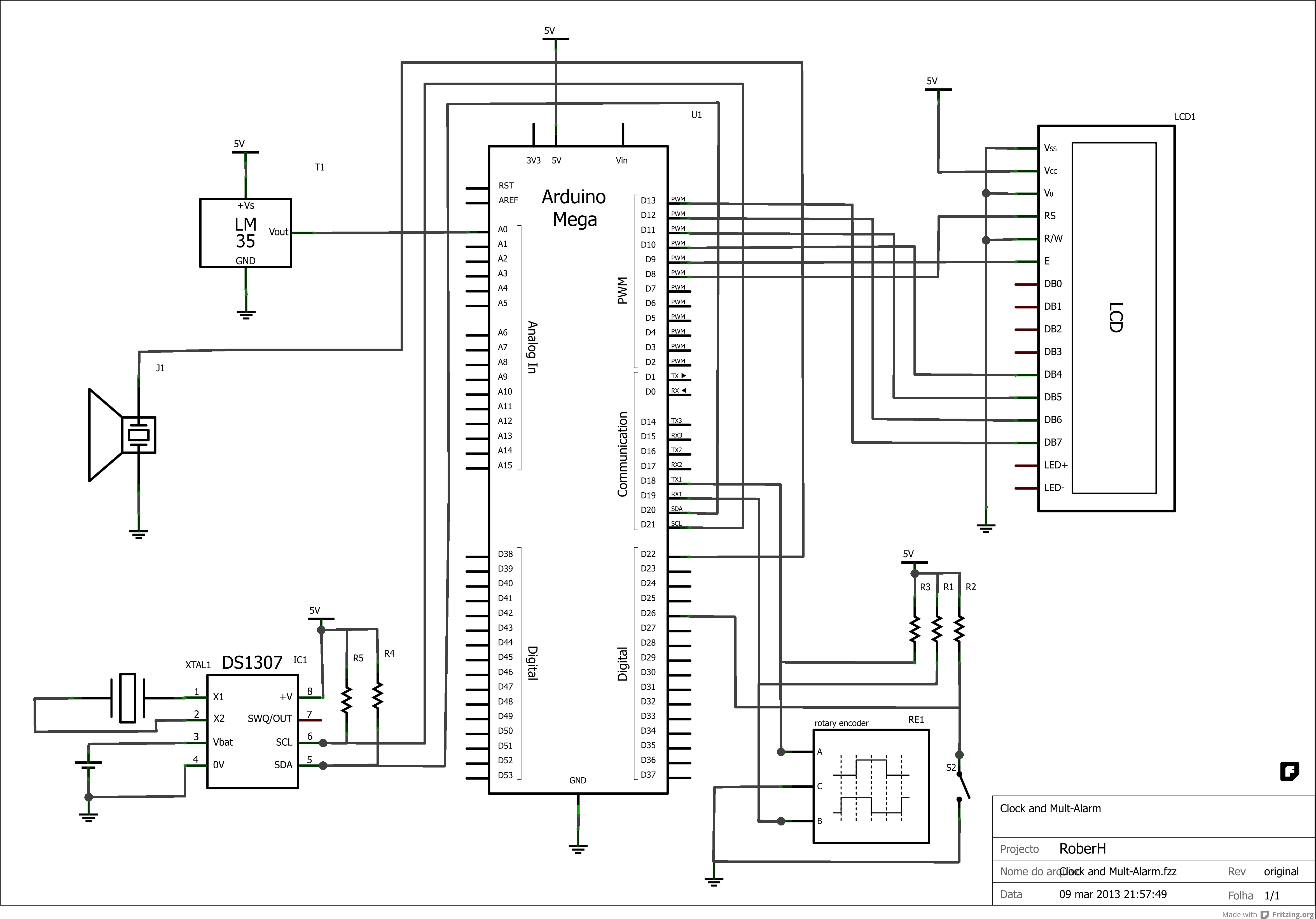 Arduino Led Diagram