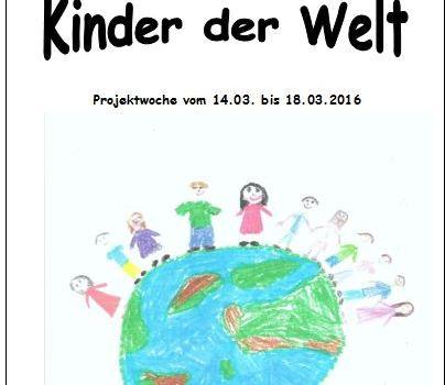 """Rückblick: Projektwoche """"Kinder der Welt"""""""