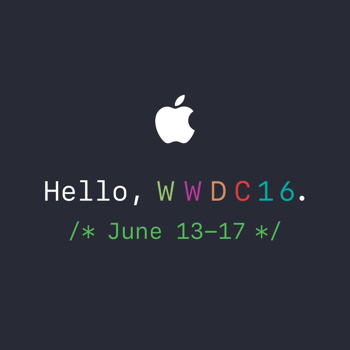 WWDC 2016 Thoughts