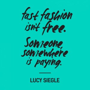 fast fashion isn´t free