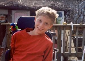 Noah Miesch age 15