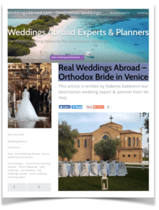 best wedding venue in italy press