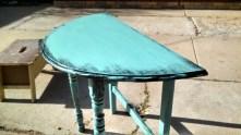 Half-Round Display Table