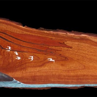 ~54x16 inch. MM on Milo Wood