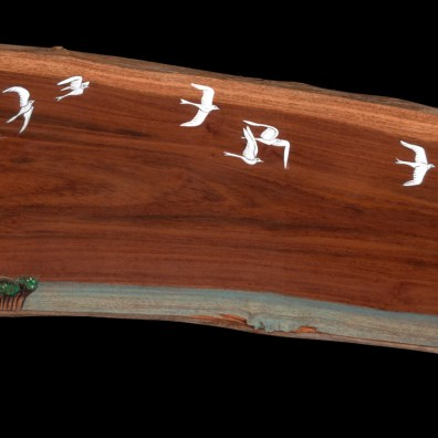 ~32x12 inch. MM on Milo Wood