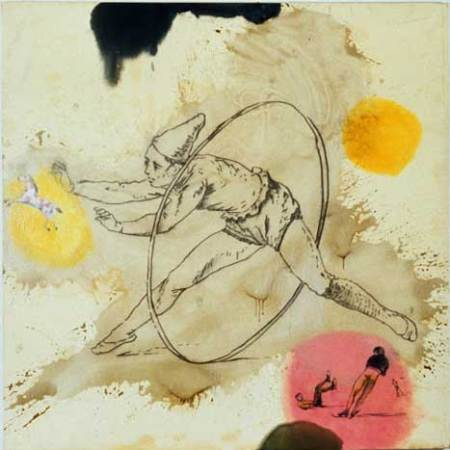"""Pony, Oil and bound charcoal on canvas, Approx. 50"""" x 48"""", circa 1990"""