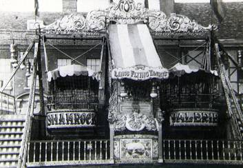 Joe Ling's Steam Yachts, 1926, King's Lynn, Norfolk. Courtesy of the National Fairground Archive.