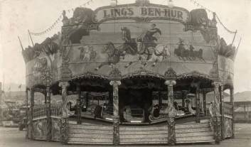 Joe Ling's Ben Hur Ark, c. 1935. Courtesy of the National Fairground Archive.