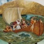 Jésus dans la tempête