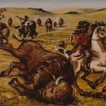 Métis à la chasse au bison – Metis bison hunt