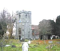 Shillingstone, Dorset. The Church of the Holy Rood
