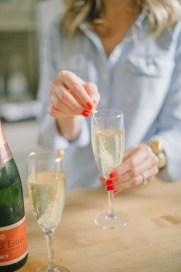 Pop open that bubbly, lady! You've earned it.