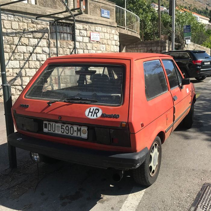 Making Love in the Back of a Yugo