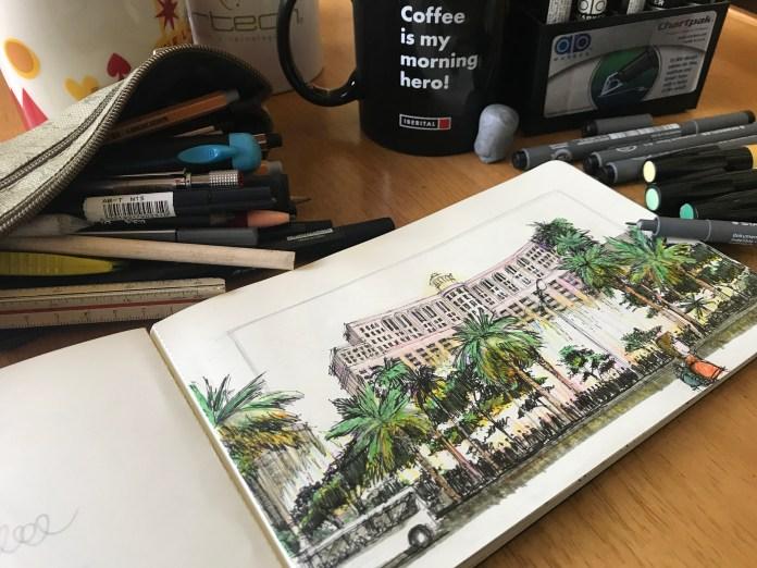 Bellagio Sketch 5