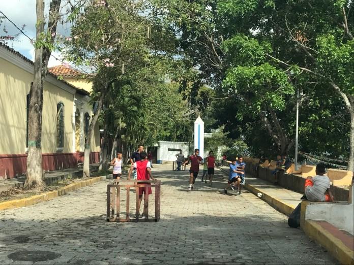 Sta Rosa street futbol