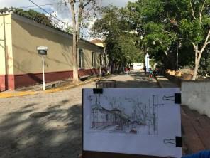 Casona Street Sketch