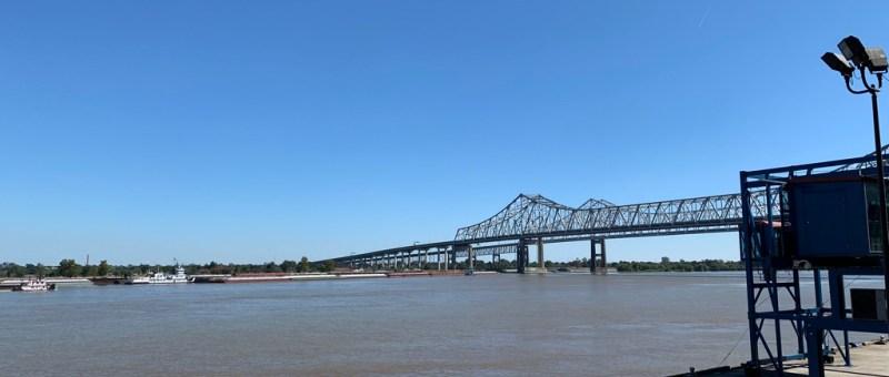 Bye Bye New Orleans - Mississippi River