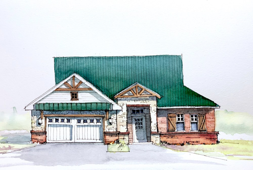 Brick House Sketch
