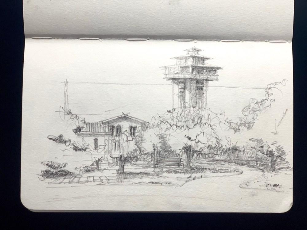 Sketchbook - Sketching Tanglewood Resort